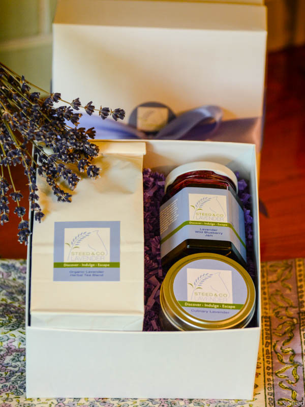 Culinary Lavender Gift Set at Steed and Company Lavender