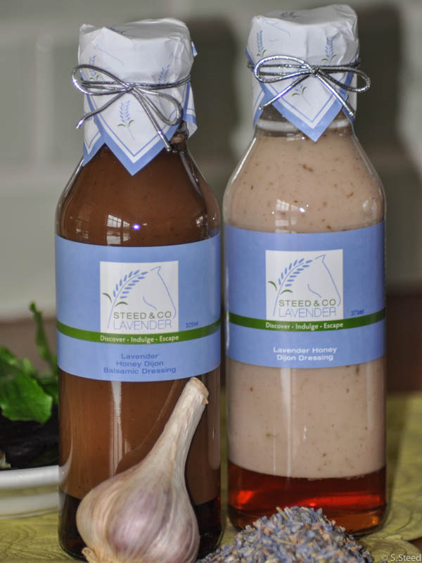 Culinary Lavender Salad Dressing from Steed and Company Lavender