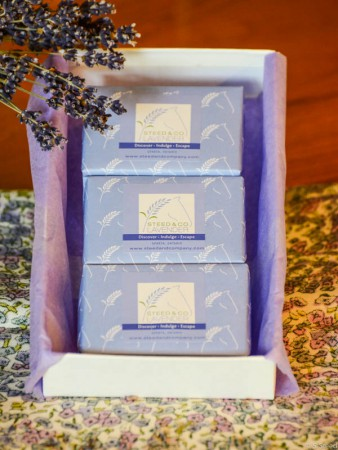 Soap Gift Set at Steed and Company Lavender