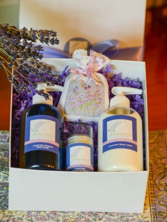 Body Gift Set at Steed and Company Lavender