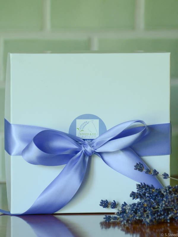 Gift Boxes at Steed and Company Lavender