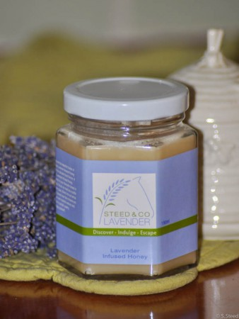 Lavender Honey at Steed and Company Lavender Farm