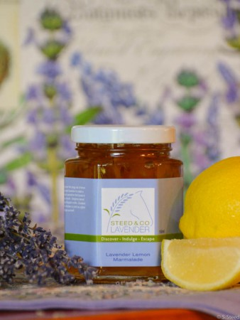 Lavender Lemon Marmalade at Steed and Company Lavender