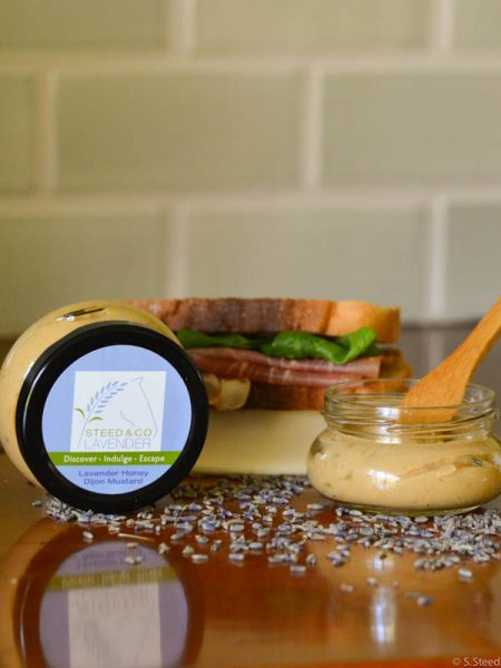 culinary lavender mustard by Steed and Company Lavender