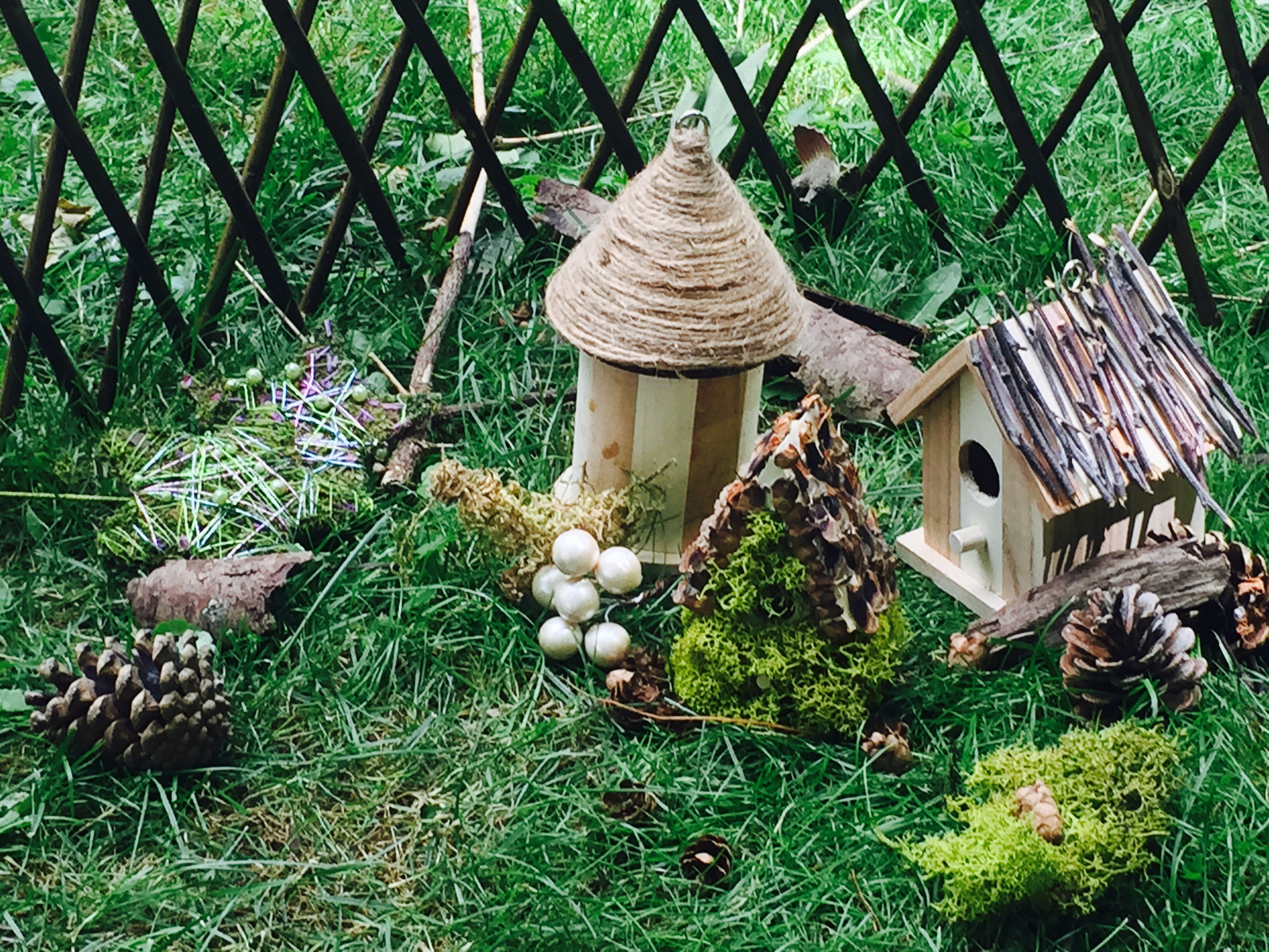Fairy Houses at Steed and Company Lavender
